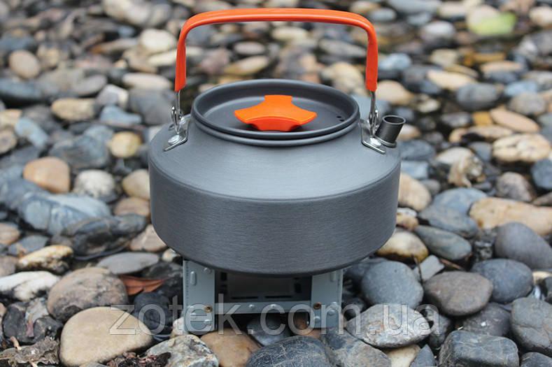 Чайник туристический походный 1,1 Литр анодированный алюминий
