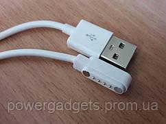Магнитный кабель для смарт-часов KW, GV, GT 4-pin