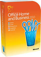 Microsoft Office Home and Business 2010 32-bit/ x64 Ukrainian DVD BOX (T5D-00186)