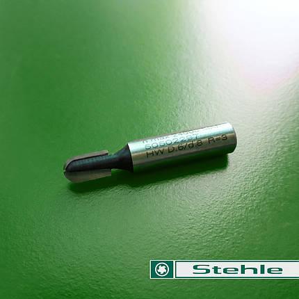Пальчиковая фреза Stehle  6х12х37х8 R=3, z=2, фото 2