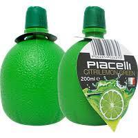 Концентрированный сок лайма Piacelli Citrilemon Green 200 мл
