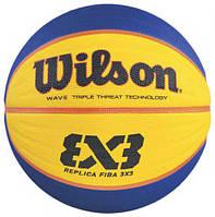 М'яч баскетбольний Wilson FIBA 3X3 Replica р. 6 (WTB1033XB)