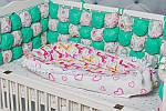 """Кокон-гнездышко для новорожденного """"Жирафик"""", фото 2"""