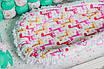 """Кокон-гнездышко для новорожденного """"Жирафик"""", фото 4"""
