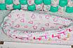 """Кокон-гнездышко для новорожденного """"Жирафик"""", фото 5"""