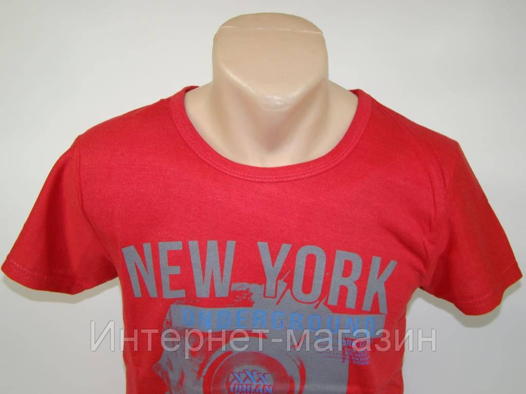 Футболка мужская Mark New York (Турция) (M-L) код 5098