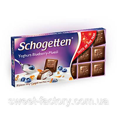 Schogetten йогурт - голубика - мюсли