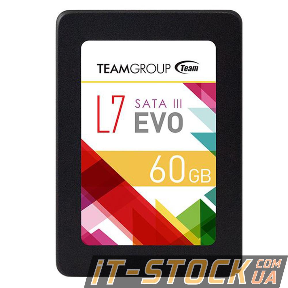 """Накопитель SSD 2.5"""" 60GB Team L7 Evo T253L7060GTC101 (SATA III)"""