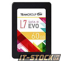 """Накопитель SSD 2.5"""" 60GB Team L7 Evo T253L7060GTC101 (SATA III), фото 1"""