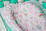 """Кокон-гнездышко для новорожденного""""Пироженные"""", фото 2"""
