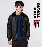 11 Kiro Tokao   Куртка бомбер мужская 229 черный