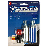 Баллоны для шин Oxford CO2 Tyre inflator kit OX163