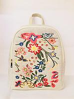 Рюкзак тканевый плотный (мешковина) на одно отделение, рюкзак городской, подростковый