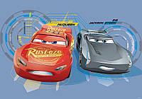 Купить 3D фотообои под заказ на стену Cars Disney : Конкурент Маквин CN11246, фото 1