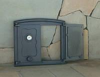 Дверка чугунная Batumi 2 с термометром, фото 1