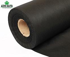 Агроволокно чёрное мульчирующее в рулоне  60г\м2 - 1.07м\100м ( спанбонд ) Чехия