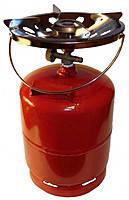 Газовый баллон 8 литровый с горелкой Rudyy. Газовый комплект 8 л. Примус, фото 2