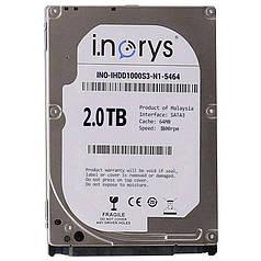 ➨Жорсткий диск i.norys 2.0 TB 5900 rpm 64 MB (TP53245B002000A) накопичувач HDD внутрішній вінчестер для Пк