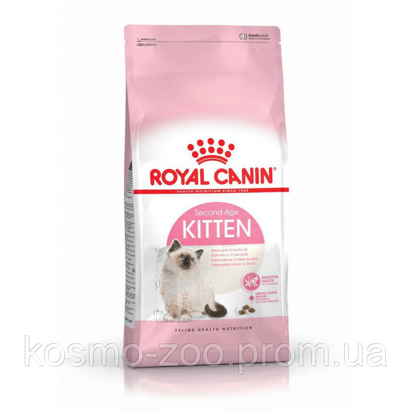 Сухой корм для котят Роял канин Киттен (Royal Canin Kitten), 10 кг
