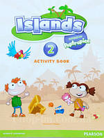Тетрадь Islands 2 Activity Book with pincode