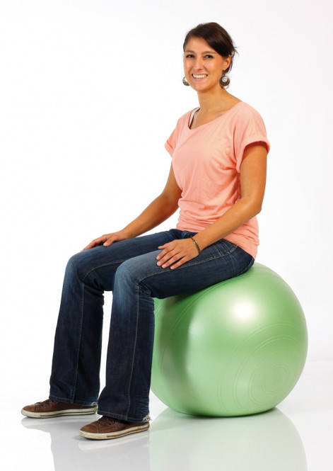 Мяч для фитнеса (фитбол) TOGU ХепиБек 45см  (до 500кг), фото 2