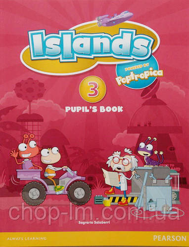 Учебник Islands 3 Pupil's Book with pincode