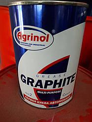 Графитная смазка Ж (графитка) бан. 0,8кг, Агринол