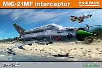 1:72 Сборная модель самолета МиГ-21МФ, Eduard 70141