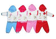 Костюм детский флисовый тройка для мальчика или девочки. Бебимикс №1, фото 1