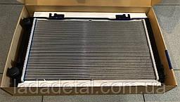 Радиатор Приора 2170-2172 с кондиционером Halla Лузар