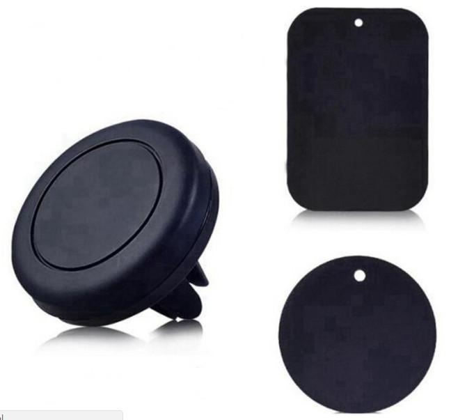 Силиконовый магнитный держатель телефона в решетку воздуховода