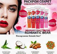 Тинт для губ Romantic bear. 6  оттенков для стойкого макияжа