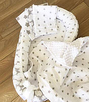 Гнездышко, кокон со сьемным матрасиком для новорожденного Baby-Sleep