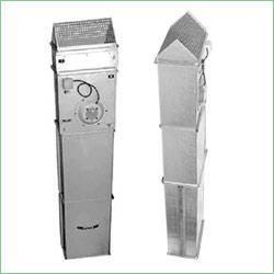 Промышленные тепловые завесы с электрическим нагревателем