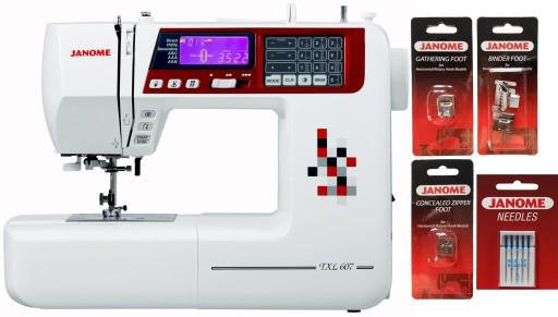 Швейная машинка JANOME TXL607