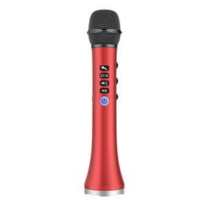 Безпровідний мікрофон караоке MicMagic L-698 Червоний 15 Вт