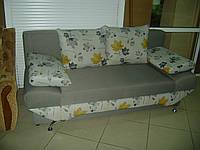 Диван-еврокнижка б/у, стильный диван б/у, фото 1