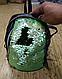 Рюкзак с пайетками-перевертышами зеленый-черный, фото 2