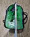 Рюкзак с пайетками-перевертышами зеленый-черный, фото 3
