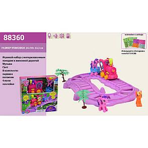 Игровой набор Железная дорога - Поезд Литл Пони (my Litle Pony), 88360, фото 2