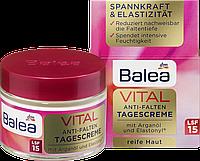 Восстанавливающий дневной крем для лица Balea VITAL Anti-Falten , 50 ml.