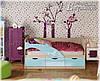 Детская кровать Дельфин-1 МДФ 1,6м матовая, фото 3