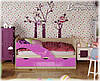Детская кровать Дельфин-1 МДФ 1,6м матовая, фото 5