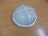 Светильник НПП1308 белый/круг решетка крупная 60Вт, фото 1