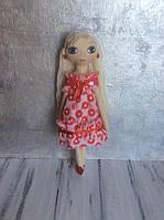Модная кукла девочке авторская подарок ручная работа