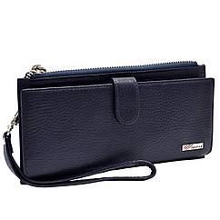 Великий шкіряний гаманець-клатч Desisan