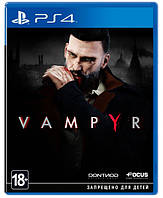 Игра Vampyr [PS4, русские субтитры]