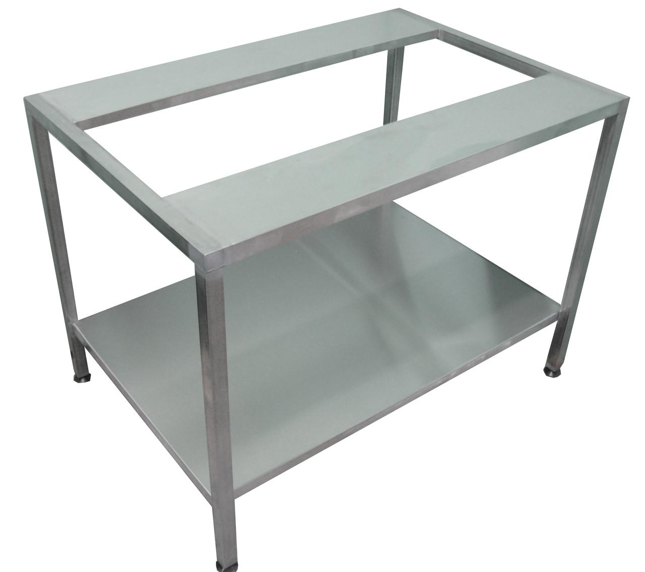 Стол- подставка для оборудования с нижней полкой   1000х800х850