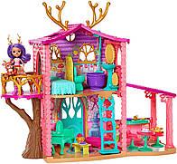 Энчантималс Лесной домик Олененка Дениссы Enchantimals Cozy Deer House Playset