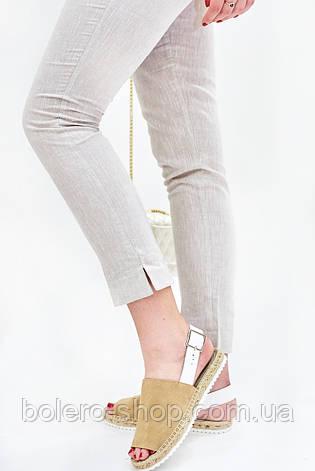 Женские штаны брюки летние  Лен , фото 2
